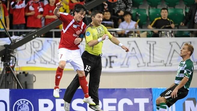 Sporting e Kairat Almaty encontraram-se em 2011 Fonte: UEFA