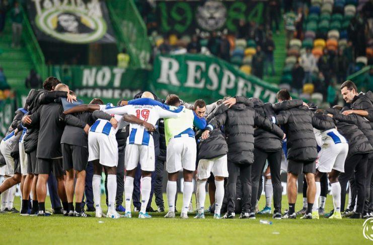 A força do coletivo como a chave para a vitória do campeonato nacional. O jogo desta segunda-feira contra o Moreirense FC fez lembrar um daqueles à moda