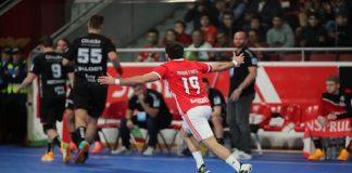 Tarefa difícil para o SL Benfica que recebia nesta segunda jornada da EHF Cup o MT Melsungen da Alemanha, atual sétimo classificado do campeonato alemão