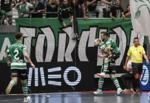 Um ponto separava as duas equipas no campeonato de Futsal e este era um jogo que valia muito mais do que a liderança para a jornada 18