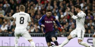 "O Real Madrid CF recebeu e venceu o grande rival FC Barcelona por 2-0, num ""El Clássico"" menos quente e espetacular do que o habitual."