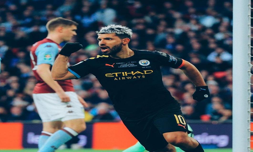 O Manchester City FC derrotou esta tarde o Aston Villa FC e venceu a sua terceira Taça da Liga consecutiva.