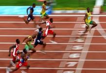 Pequim 2008, Medalha deOuro: Usain Bolt (JAM) – 9.69 -É para muitos a final mais memorável da história dos Jogos Olímpicos.