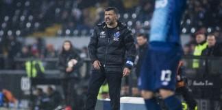 """""""Filho de peixe sabe nadar"""" e, no comando técnico da equipa do FC Porto, Sérgio Conceição vê quatro dos seus cinco filhos jogar"""