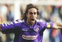 Batistuta a marca mais um golo na Liga Italiana