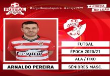 Muitos dos nossos leitores podem achar surpreendente aquilo que eu vou dizer, mas o jogador mais internacional da história da seleção nacional, Arnaldo Pereira, ainda joga.