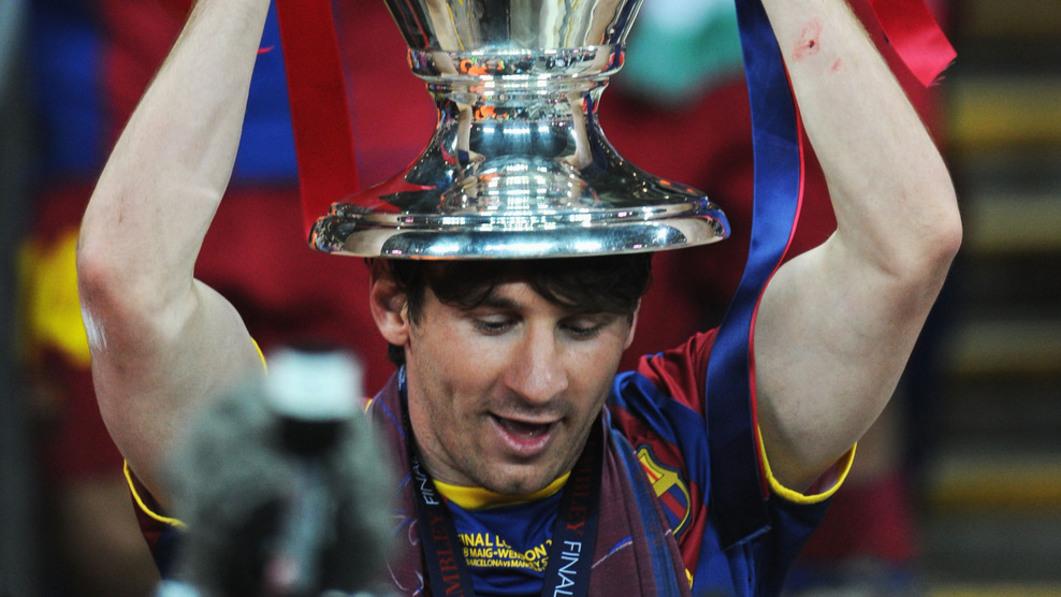 Messi Liga dos Campeões Lisboa