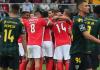 O SL Benfica, que ocupa o segundo lugar, recebe o 14º classificado, CD Tondela, em jogo a contar para a 25ª jornada da Primeira Liga.