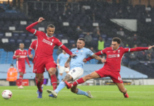 Manchester City FC 1-1 Liverpool FC