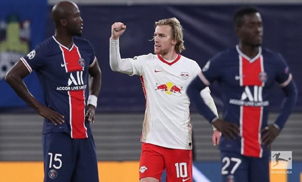 RB Leipzig 2-1 Paris Saint-Germain FC