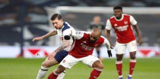 Tottenham Hotspur FC 2-0 Arsenal FC