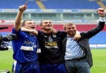 12 treinadores de Abramovich