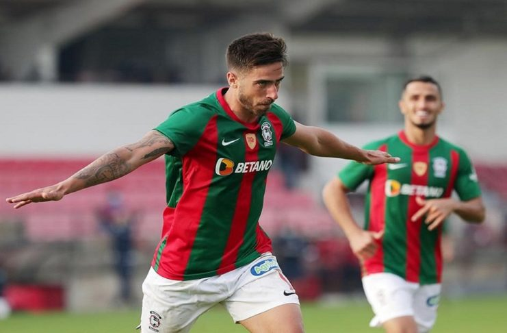 Rodrigo Pinho é a mais recente contratação do SL Benfica. O avançado brasileiro soma já 13 golos e três assistências na presente temporada.