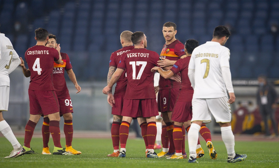 AS Roma x SC Braga Liga Europa