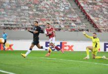 SL Benfica foi eliminado pelo Arsenal FC