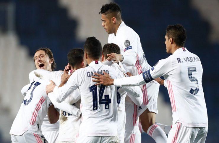 Atalanta x Real Madrid