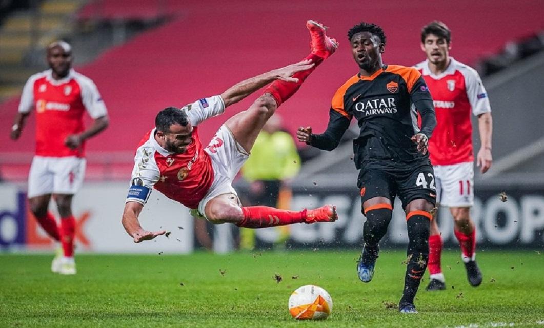 Liga Europa Braga x Roma