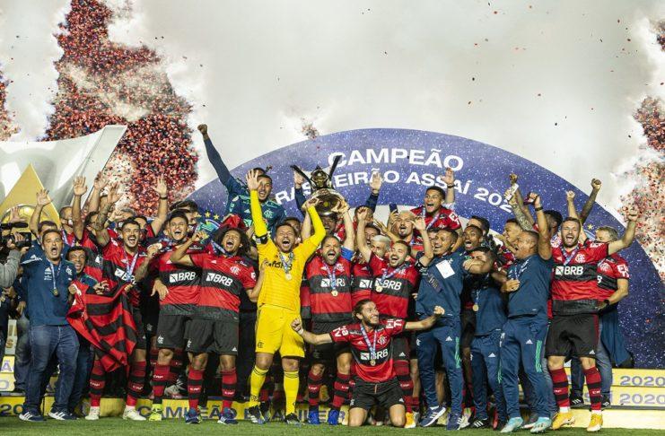 CR Flamengo Campeão Liga Brasileira
