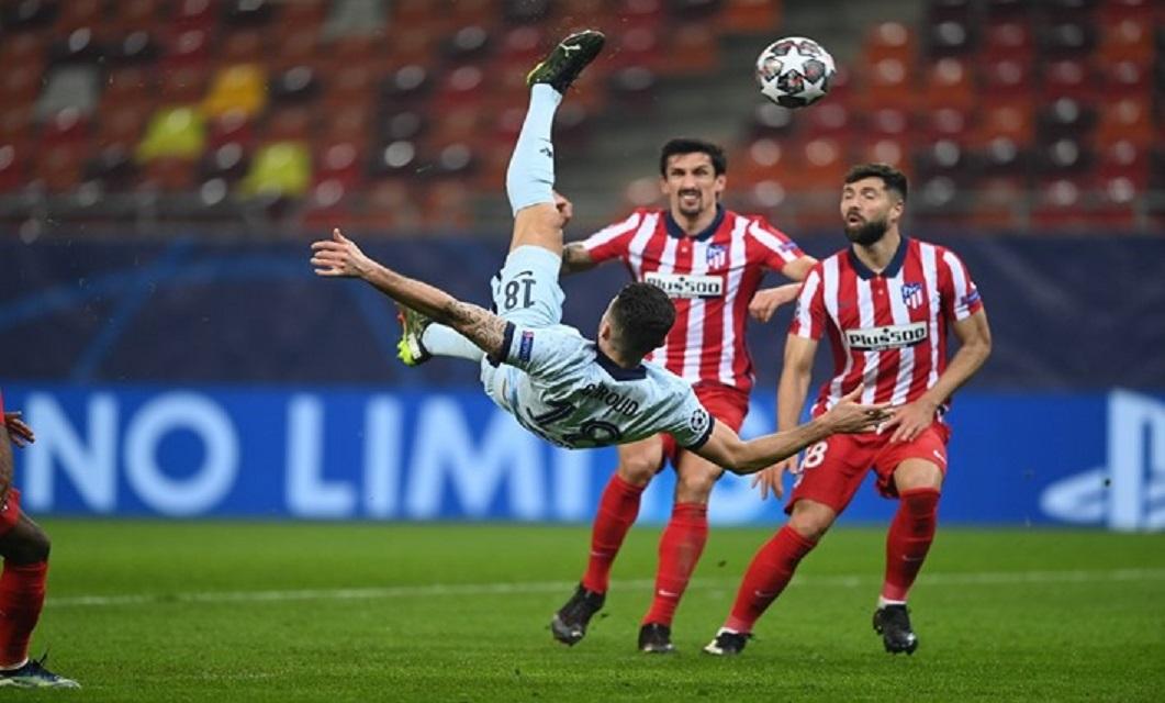Golo Atlético x Chelsea