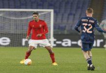 Lucas Veríssimo estreou-se frente ao Arsenal FC