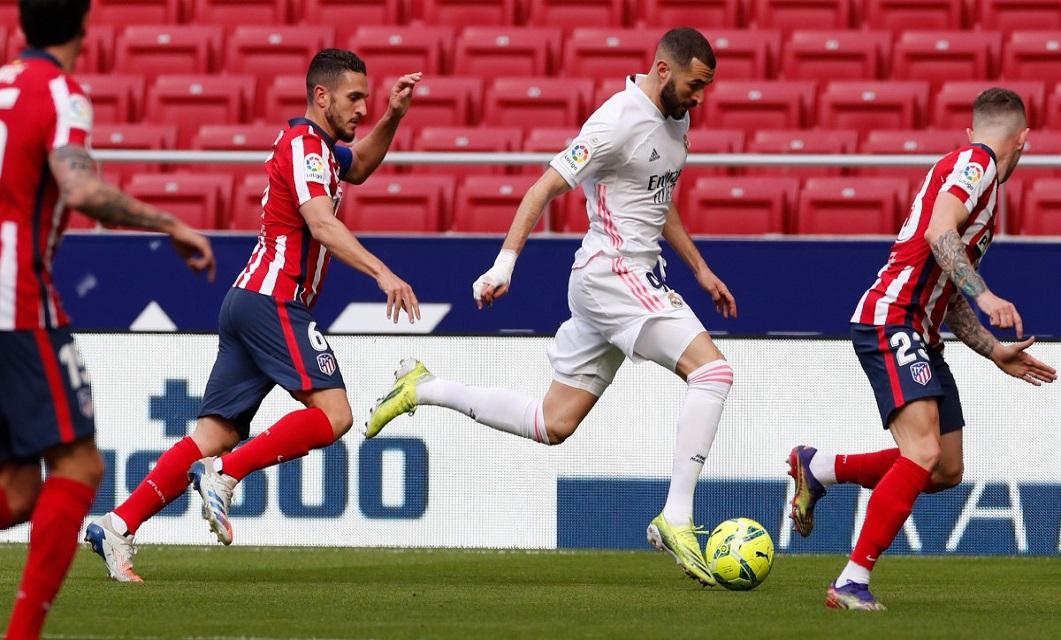 Atlético Madrid x Real Madrid