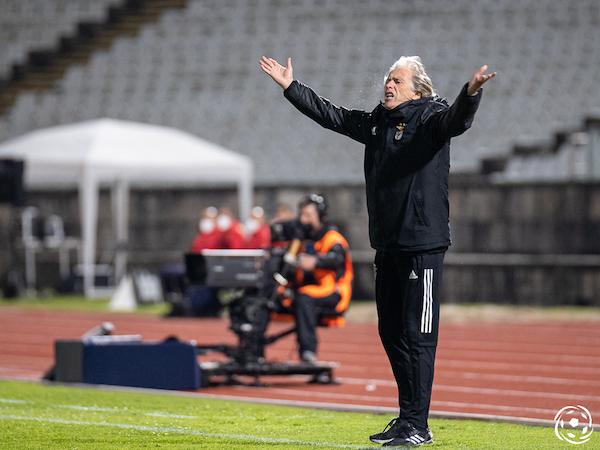 Jesus antevê uma partida difícil para o SL Benfica