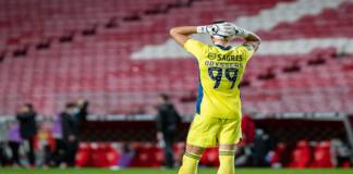 Odysseas Vlachodimos perdeu a titularidade da baliza do SL Benfica