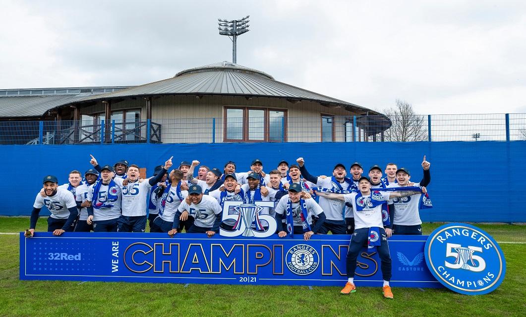 Rangers FC campeão