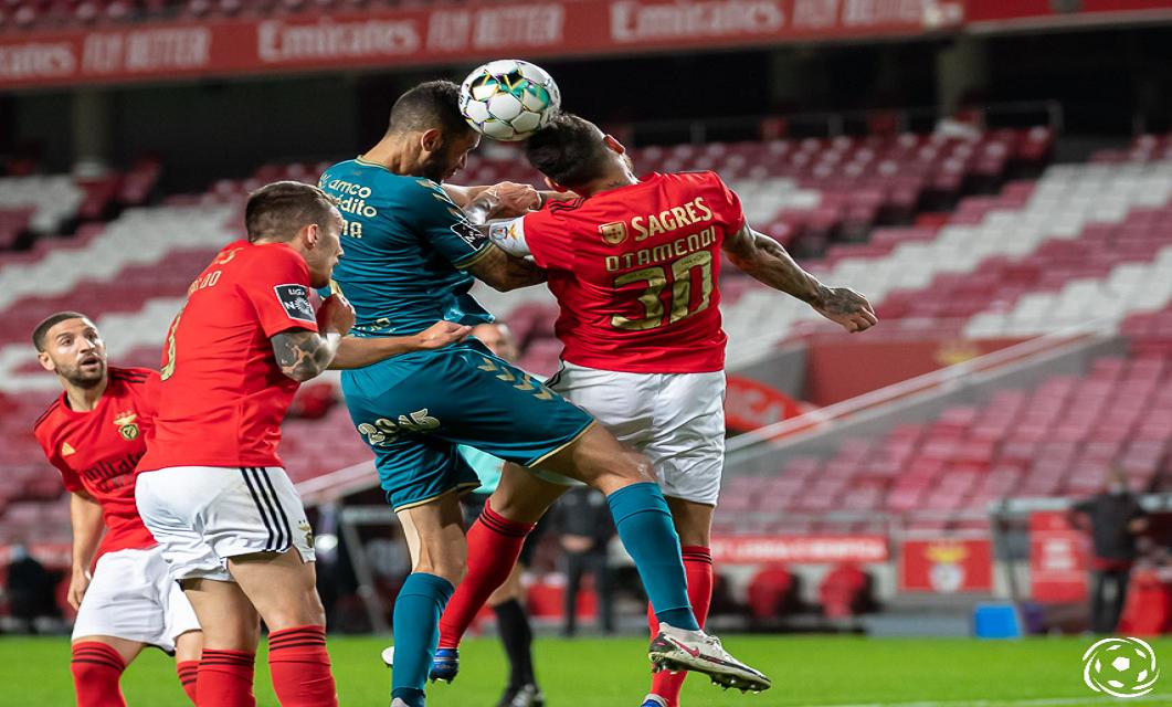 O SL Benfica está cada vez mais sólido defensivamente