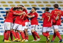 SL Benfica defronta o GD Estoril Praia em jogo da segunda mão da meia final da Taça de Portugal