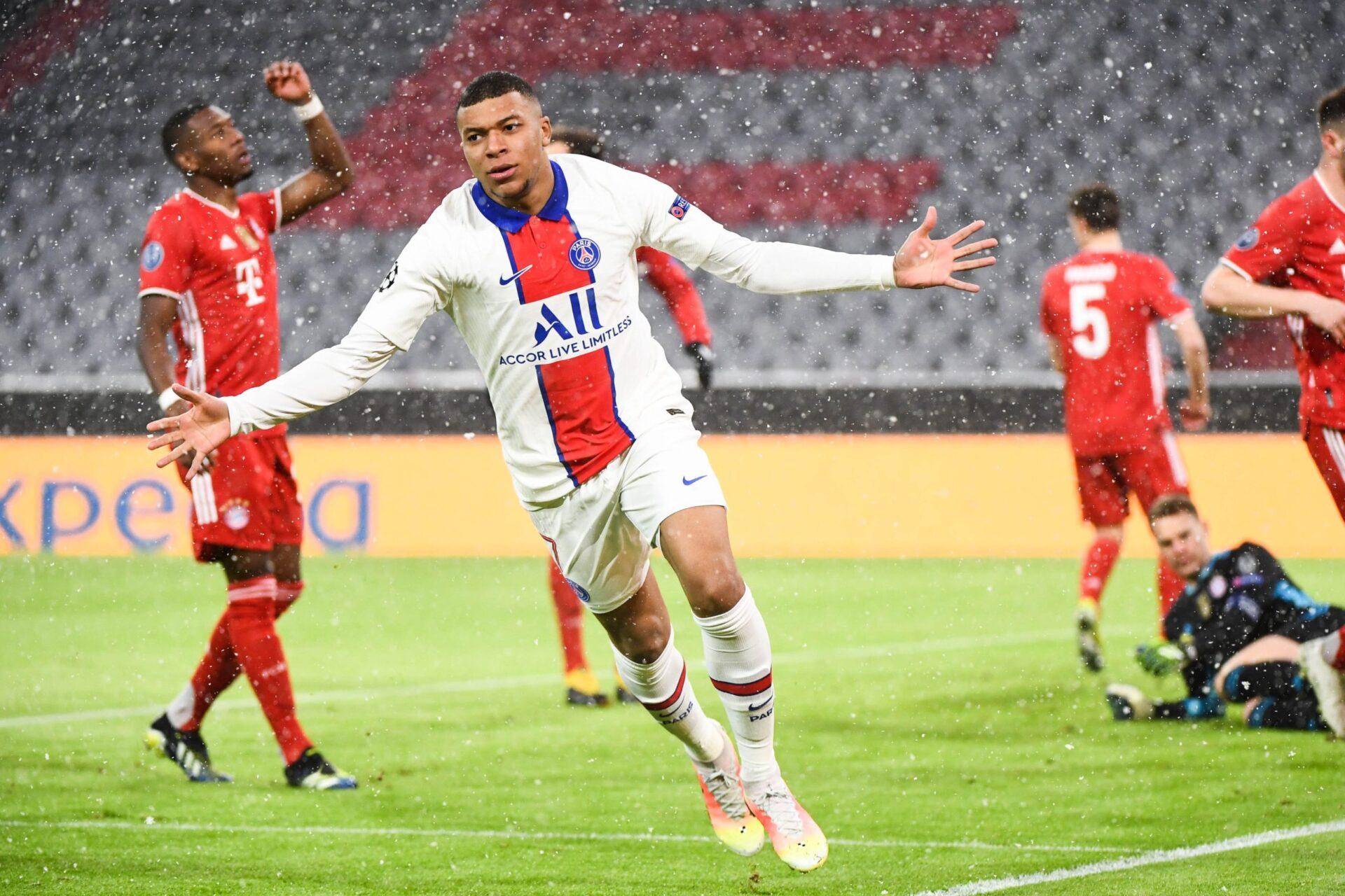 Bayern x Paris Saint-Germain