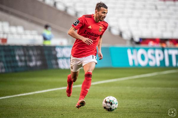 Diogo Gonçalves tem estado em bom plano pelo SL Benfica