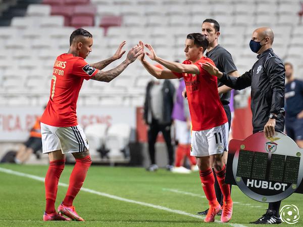 Franco Cervi tem vindo a perder espaço no SL Benfica