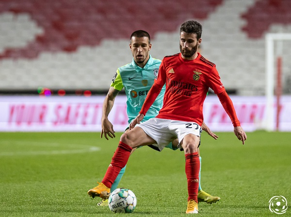 Rafa foi a figura de destaque do SL Benfica