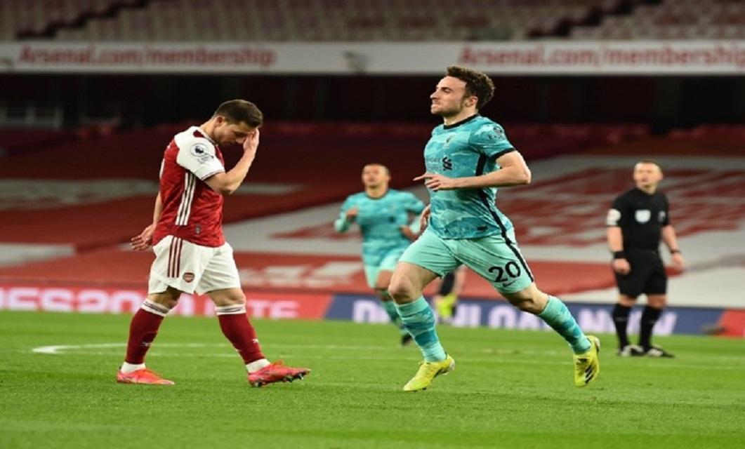 Diogo Jota Arsenal Liverpool