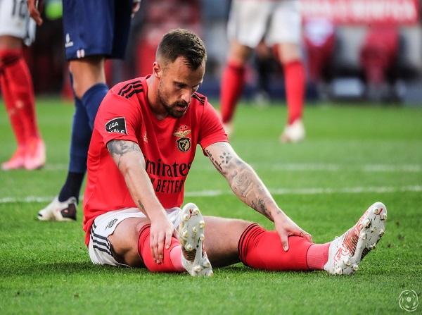 Seferovic esteve apagado, não aparecendo no jogo do SL Benfica