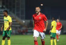 Seferovic foi a principal figura do SL Benfica no encontro