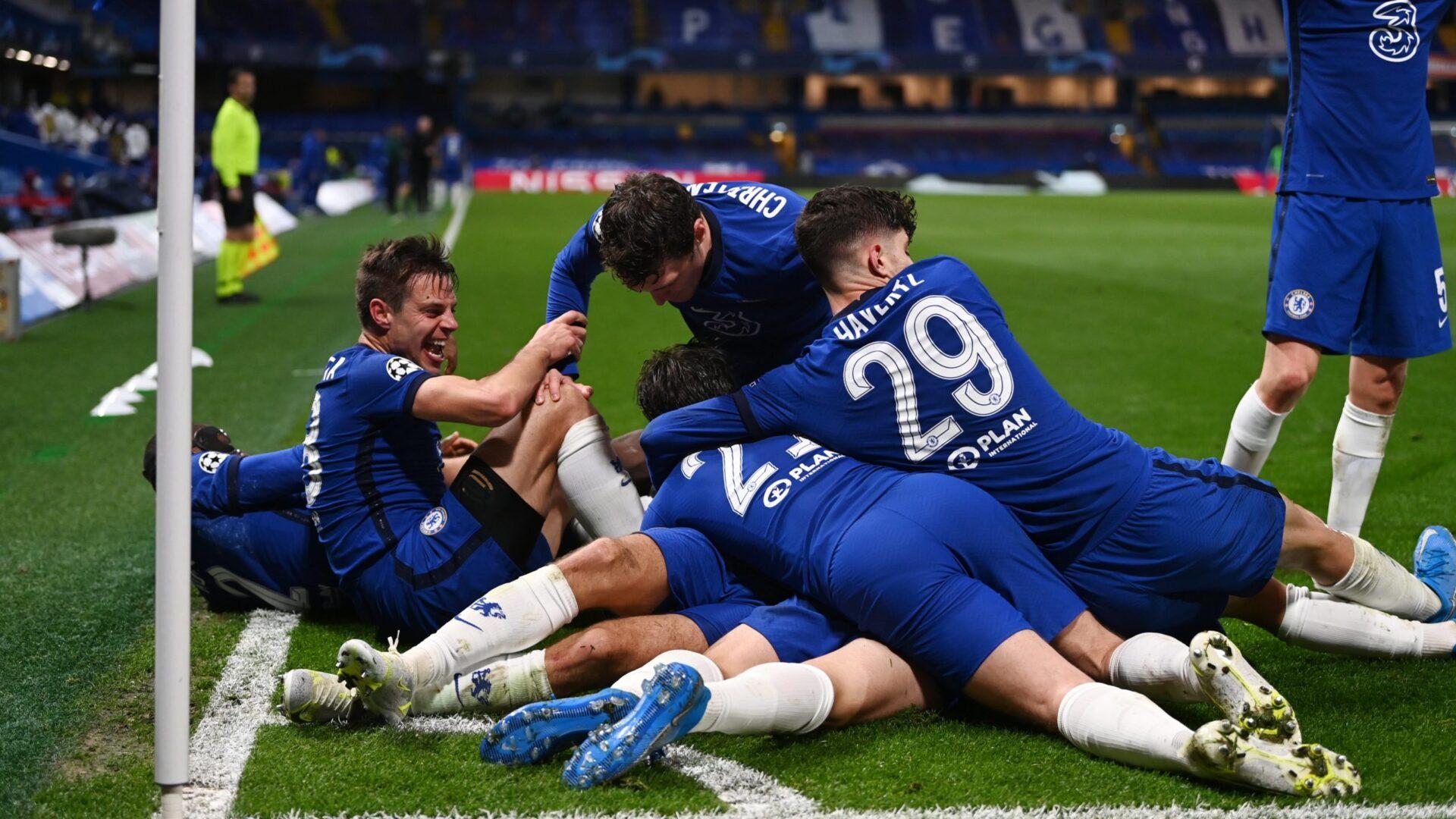 Chelsea x Real Madrid