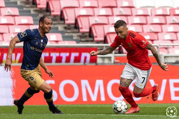 Everton tem estado em destaque no lado do SL Benfica
