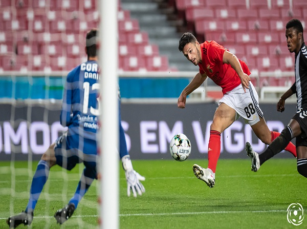 Gonçalo Ramos bisou pelo SL Benfica