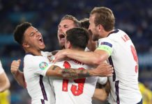 Inglaterra Euro 2020