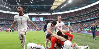 Inglaterra golo Euro 2020