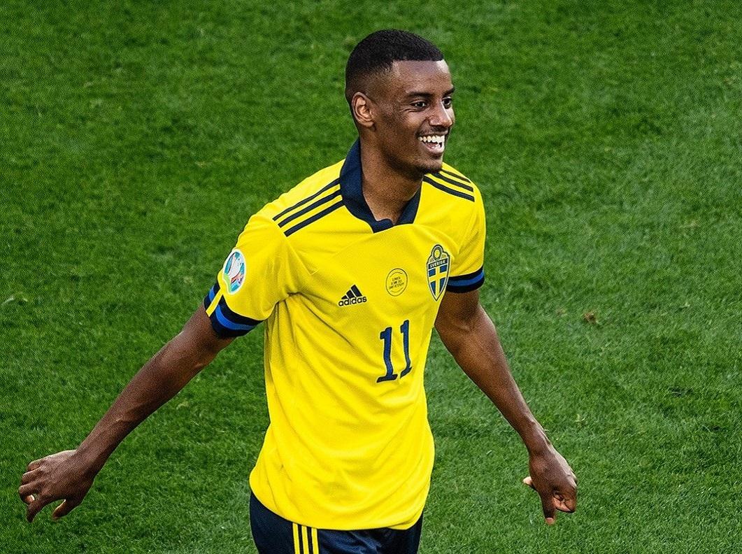 Isak Suécia Euro 2020