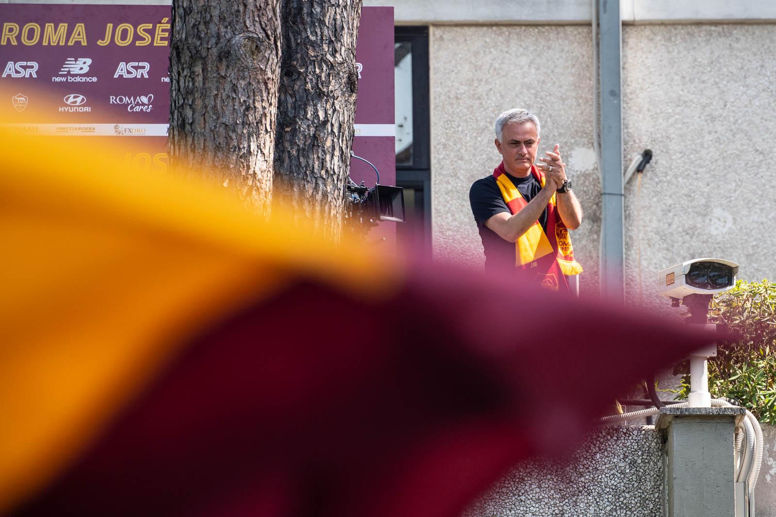 Treinador José Mourinho