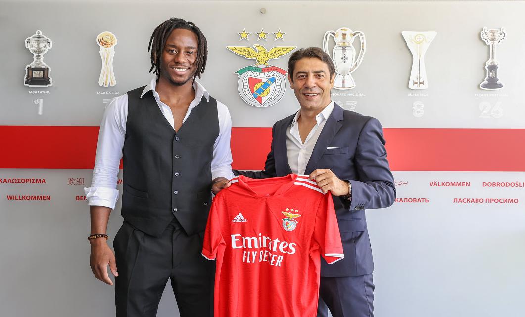 Meité é o novo número 11 do SL Benfica