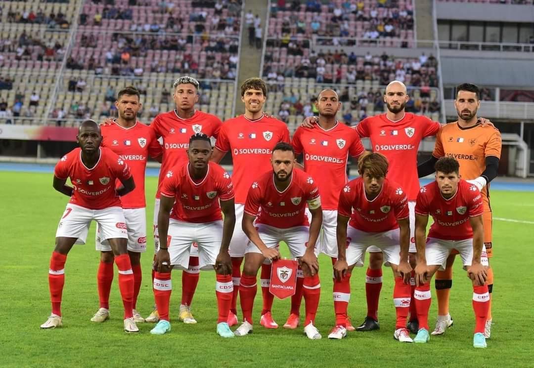 O CD Santa Clara derrotou o FC Shkupi