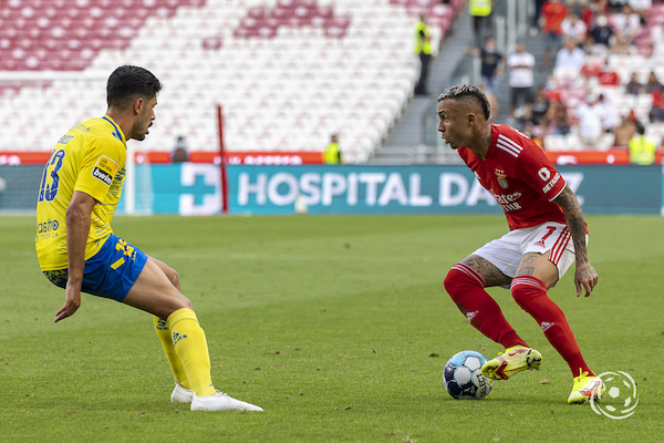 Everton esteve apagado do jogo do SL Benfica