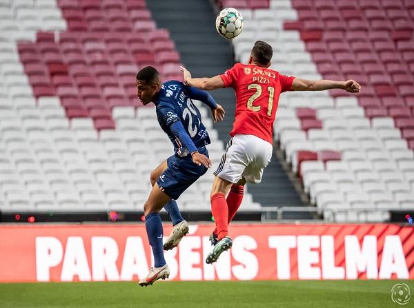 Samuel Lino é a principal ameaça às redes do SL Benfica