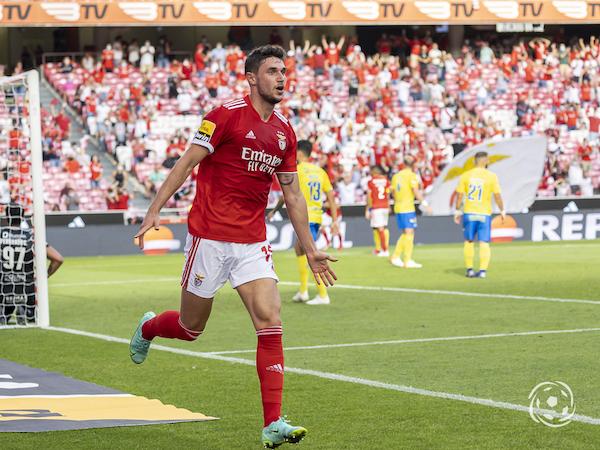 Roman Yaremchuk tem impressionado os adeptos do SL Benfica