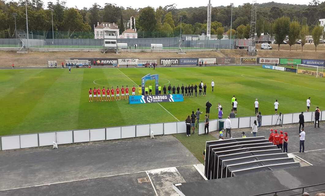 SL Benfica B perdeu por 4-2 frente ao Casa Pia AC